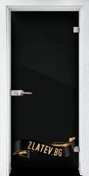 Стъклена интериорна врата Folio G 15-2 с каса Бреза