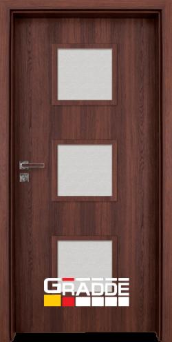 Интериорна врата Gradde Bergedorf, Орех Рибейра