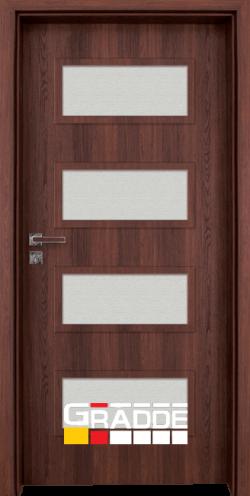 Интериорна врата Gradde Blomendal, Орех Рибейра