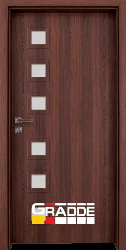 Интериорна врата Gradde Reichsburg, цвят Орех Рибейра