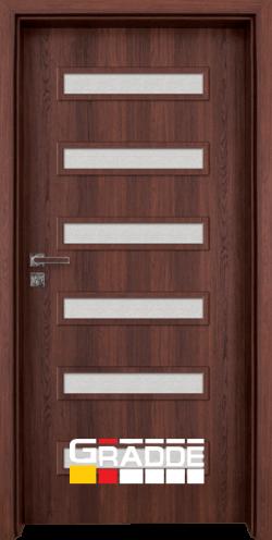 Интериорна врата Gradde Schwerin, цвят Ясен Вералинга
