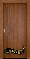 Интериорна врата Gama 201 p, цвят Златен дъб