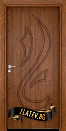 Интериорна врата Gama 203 p, цвят Венге