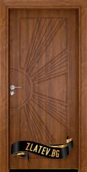 Интериорна врата Gama 204 p, цвят Златен дъб