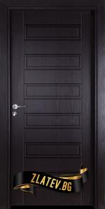 Интериорна врата Gama 207 p, цвят Венге