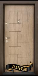 Блиндирана входна врата T 100 Antik