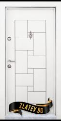 Блиндирана входна врата T 100 W