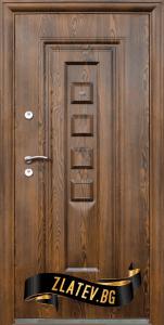 Блиндирана входна врата модел 802-7 от Златев Стара Загора