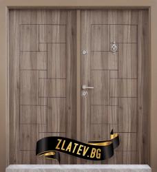 Двукрила входна врата T-100 - Цвят Спарта