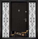 Еднокрила входна врата T-712 - Цвят Африка