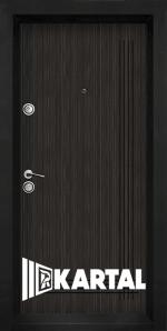Блиндирана входна врата TP 003 - цвят Черна перла